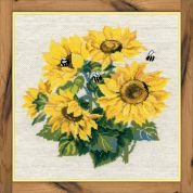 RIOLIS Counted Cross Stitch Kit Sunflowers