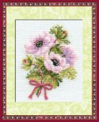 RIOLIS Counted Cross Stitch Kit Anemones