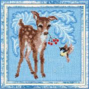 Riolis Counted Cross Stitch Kit Fawn
