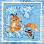 Riolis Counted Cross Stitch Kit Fox Cub