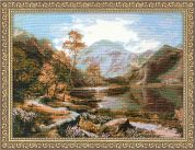 RIOLIS Counted Cross Stitch Kit Loch Lomond