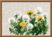 RIOLIS Counted Cross Stitch Kit Dandelions