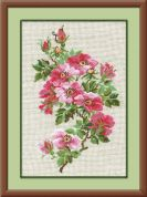 Riolis Counted Cross Stitch Kit May Wild Rose