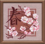 RIOLIS Counted Cross Stitch Kit Spring