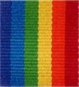 Berwick Offray Rainbow Multicoloured Ribbon