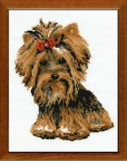 RIOLIS Counted Cross Stitch Kit Yorkshire Terrier