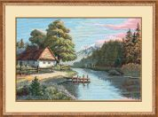Riolis Counted Cross Stitch Kit Still Silent River