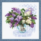 Riolis Counted Cross Stitch Kit The Smell of Spring