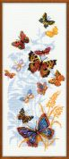 Riolis Counted Cross Stitch Kit Russian Butterflies