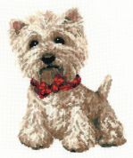 RIOLIS Counted Cross Stitch Kit West Highland White