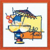 Riolis Counted Cross Stitch Kit Ice Cream