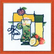 Riolis Counted Cross Stitch Kit Cocktail