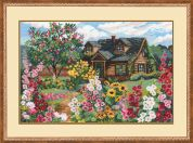 RIOLIS Counted Cross Stitch Kit Flowering Garden