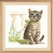 RIOLIS Counted Cross Stitch Kit Meow!