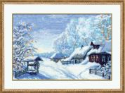 RIOLIS Counted Cross Stitch Kit Russian Winter