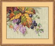 RIOLIS Counted Cross Stitch Kit Blackberries