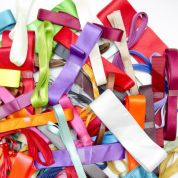 Plain Ribbon Bundles  Multicoloured