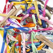 Narrow Ribbon Bundles  Multicoloured