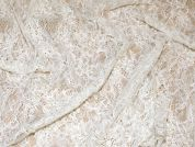 Rebecca Beaded Chantilly Lace Couture Bridal Lace Fabric  Ivory