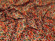 Regency Cotton Lawn Fabric  Orange