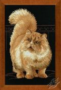 RIOLIS Counted Cross Stitch Kit Cat