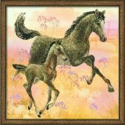 RIOLIS Embellished Counted Cross Stitch Kit Walk
