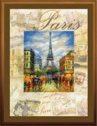 RIOLIS Embellished Counted Cross Stitch Kit Cities of the World, Paris