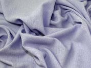 Lady McElroy Textured Crinkled Suiting Fabric  Lavender