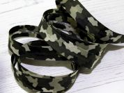 Stephanoise Army Camouflage Print Cotton Bias Binding Tape