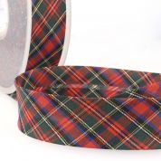 Stephanoise Tartan Bias Binding
