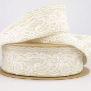 Stephanoise Linen Lace Trim