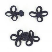 Vogue Star 70mm Navy Chinese Frog Fastener Clasp Buckle Clothes Accessories