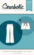 Sewaholic Ladies Sewing Pattern 1203 Thurlow Trousers & Shorts