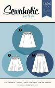 Sewaholic Ladies Easy Sewing Pattern 1403 Rae Skirt