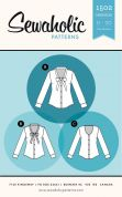 Sewaholic Ladies Sewing Pattern 1502 Oakridge Blouse