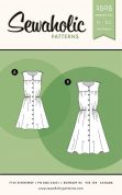 Sewaholic Ladies Sewing Pattern 1505 Harwood Dress