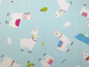 Cotton Canvas Fabric  Blue