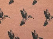 Cotton Canvas Fabric  Peach
