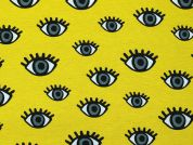 Cotton Canvas Fabric  Yellow