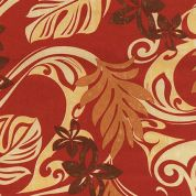 Sevenberry Cotton Poplin Fabric  Rust