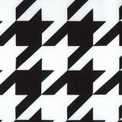 Robert Kaufman Cotton Poplin Fabric  Black & White