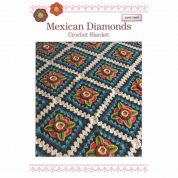 Stylecraft Jane Crowfoot Mexican Diamonds Crochet Pattern Booklet  DK