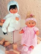 Stylecraft Dolls Outfits Wondersoft Knitting Pattern 4538  DK