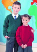 Stylecraft Childrens School Sweaters Special Knitting Pattern 4910  DK