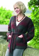Stylecraft Ladies Jacket Brushstrokes Knitting Pattern 8378  Chunky
