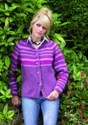 Stylecraft Ladies Cardigan Life Knitting Pattern 8389  Chunky