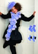 Stylecraft Childrens Hat, Scarf, Socks & Pom Pom Eskimo Knitting Pattern 8396  DK