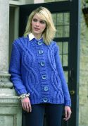 Stylecraft Ladies Jacket Life Knitting Pattern 8452  Super Chunky