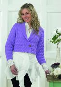 Stylecraft Ladies Cardigan Knitting Pattern 8462  DK
