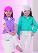 Stylecraft Childrens Jacket & Waistcoat Special Knitting Pattern 8529  DK
